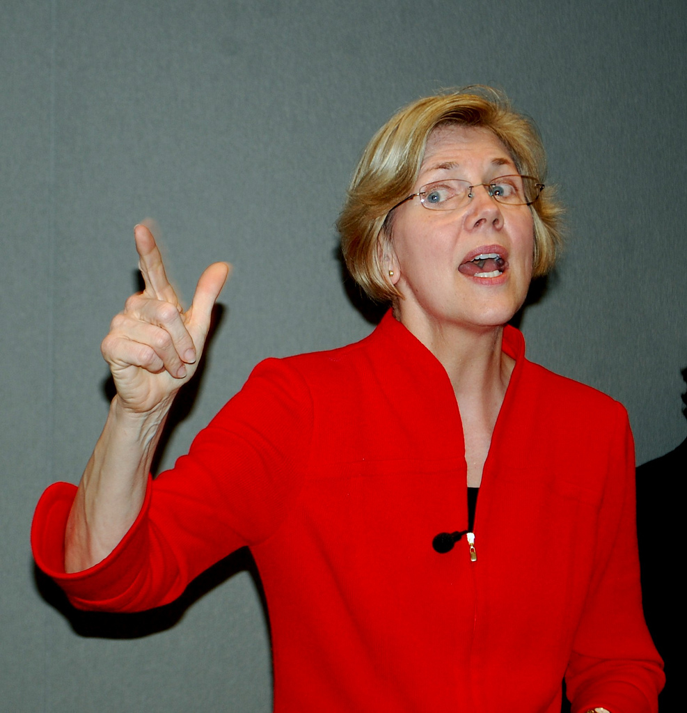 "Elizabeth Warren pushing for government-run health care system to ""solve"" the problem of government-run health care systems"