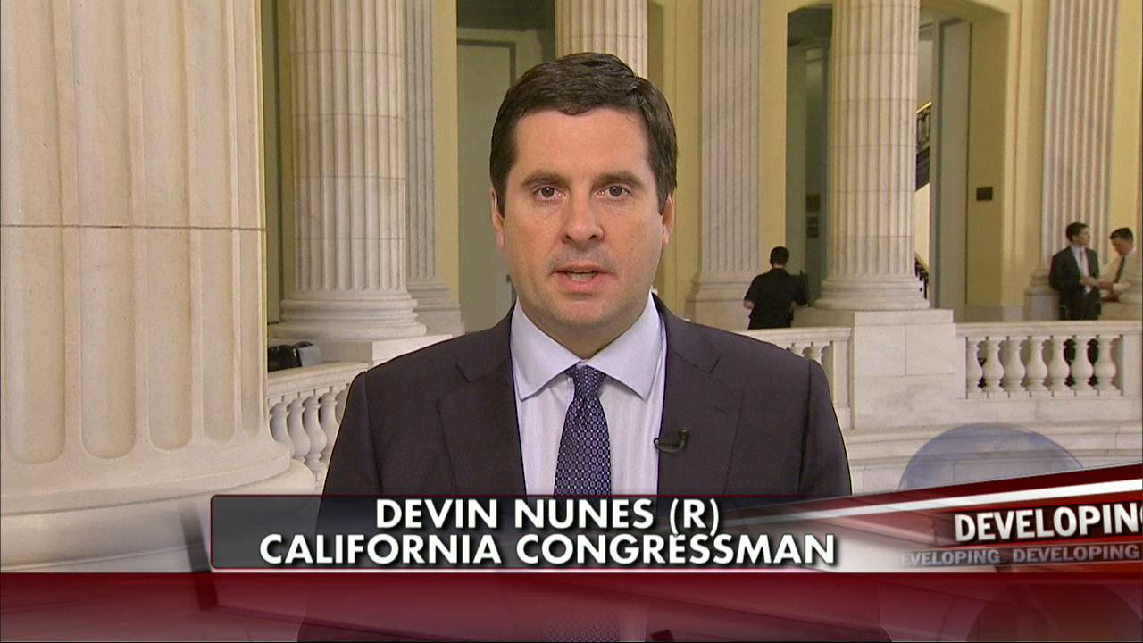 DEAL with DoJ gives House Intel Chair Nunes access to ALL documents, witnesses, in Russia witch-hunt collusion probe