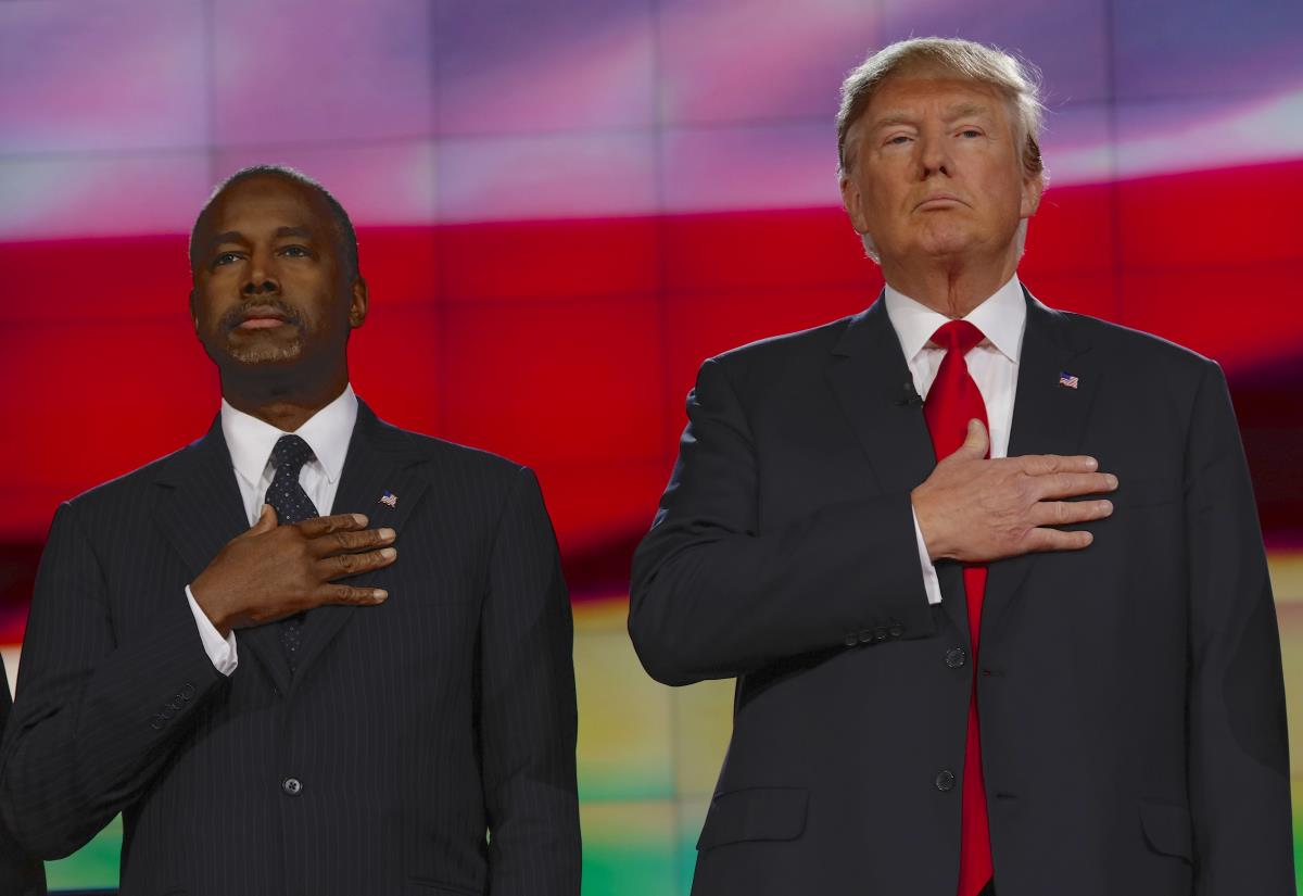 He'll 'get there' — Ben Carson says he will 'work with' President Trump over kneeling athletes but they need to make clear they aren't disrespecting the flag