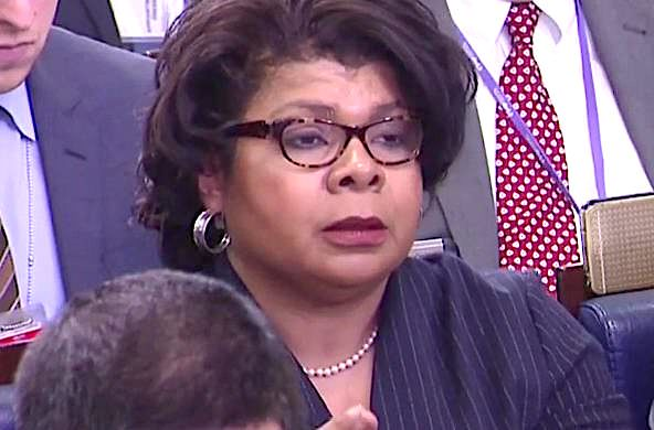 Dumb: CNN's April Ryan says she 'cannot wait' to watch 'armed forces' drag Trump out of the White House