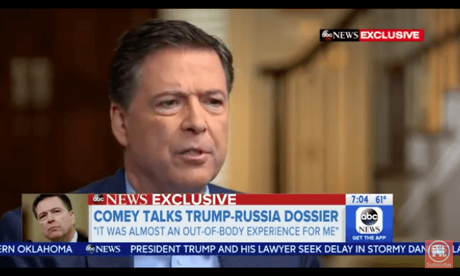 Comey ADMITS he hid fact from Trump that DEMS, Clinton paid for DOSSIER (Video)