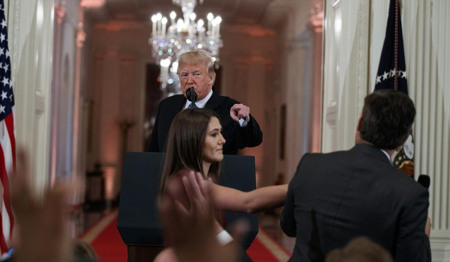 Jim Acosta Makes Disgusting Comment After Trump Addresses Nation On Coronavirus