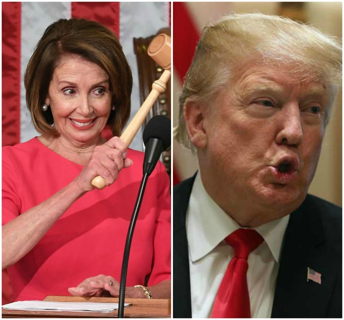 POTUS Trump defends his smackdown of Nancy Pelosi against fake news media: 'She made horrible statements'