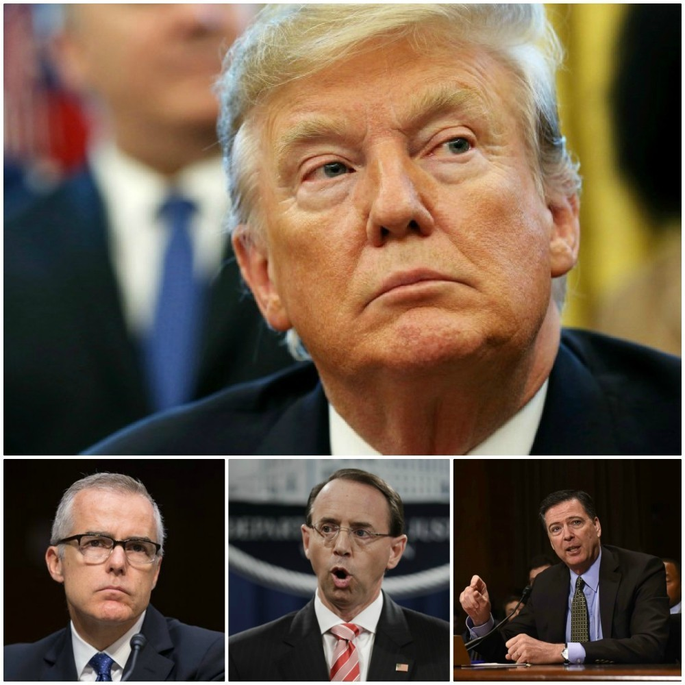Two Trump Cabinet members were ready to support McCabe, Rosenstein COUP attempt