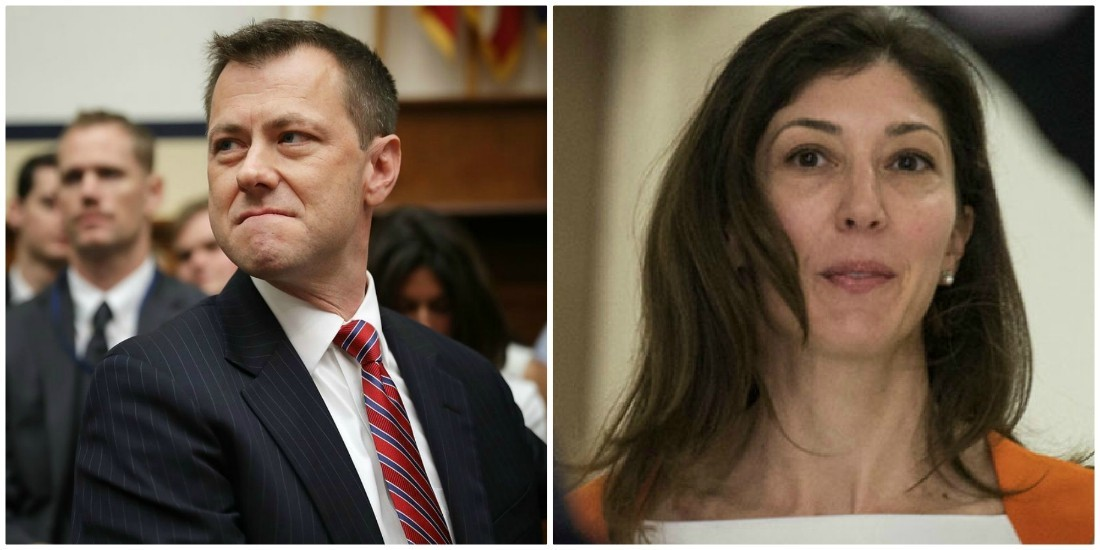 Scumbag Strzok joined Mueller team to use Trump impeachment as promotion vehicle: Page