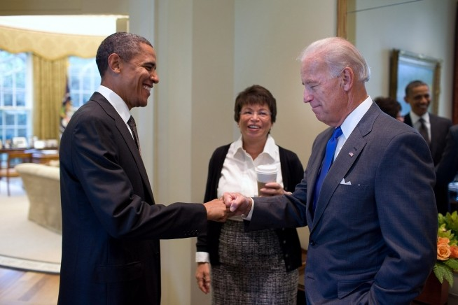 Yes, Joe Biden is the figurehead for Obama's third term