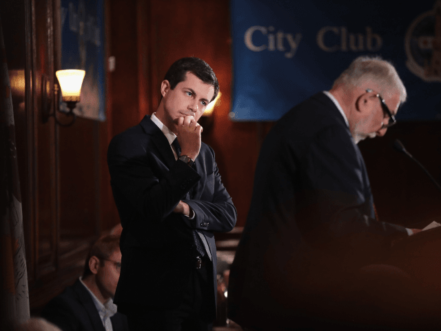When are we going to stop getting lectures on morality from Pete Buttigieg?