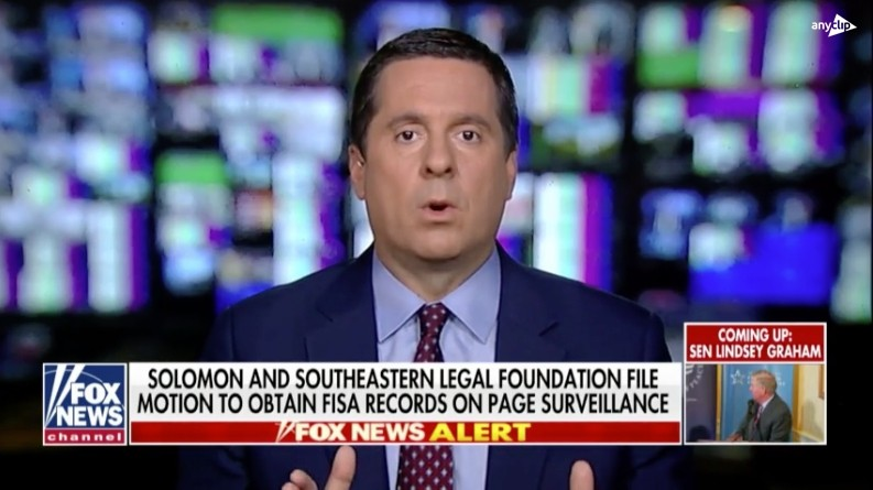 Nunes on Deep State: 'Someone was running an op against the Trump campaign on FOREIGN soil'