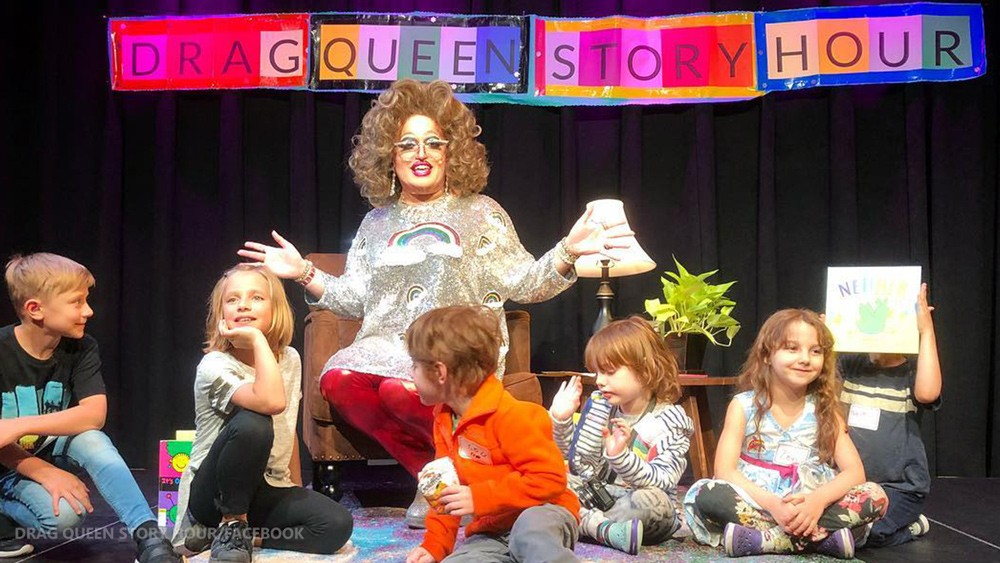 Previous sex offenders continue to participate in 'Drag Queen Story Hour' in public libraries, thanks to Left-wing lunacy