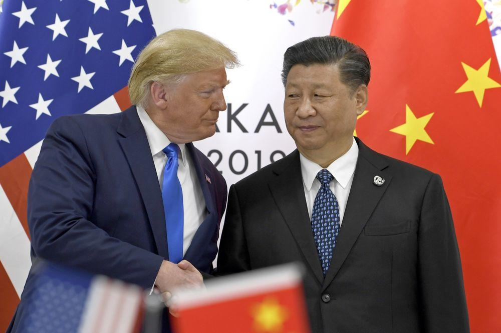 Not taking it lying down: Trump hits China back with MORE tariffs after Beijing's latest tit-for-tat