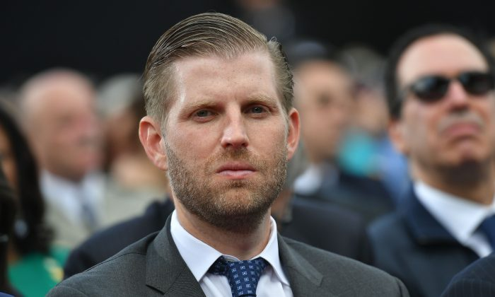 Eric Trump vows legal action against MSNBC over 'reckless attempt to smear family'