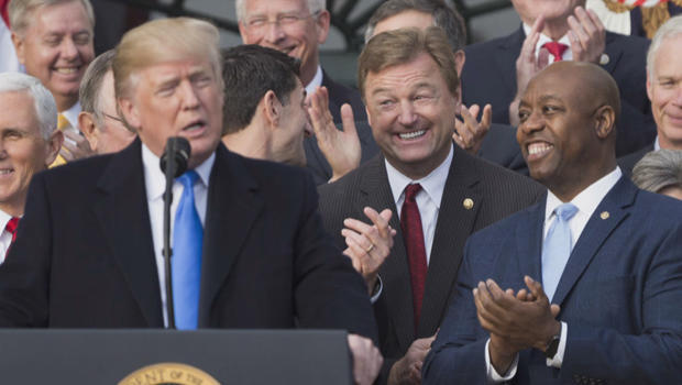 GOP leaders rip 'tolerant' 'equality' Dems for their racist, demeaning treatment of Sen. Tim Scott