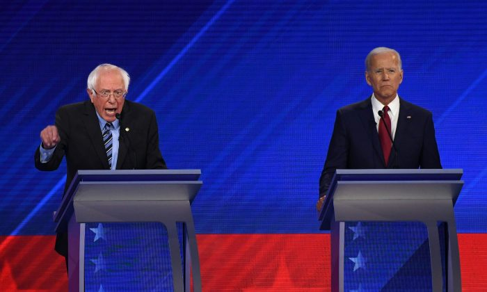 Biden clashes with other top Dems over Medicare for all: 'How are we gonna pay for it?'