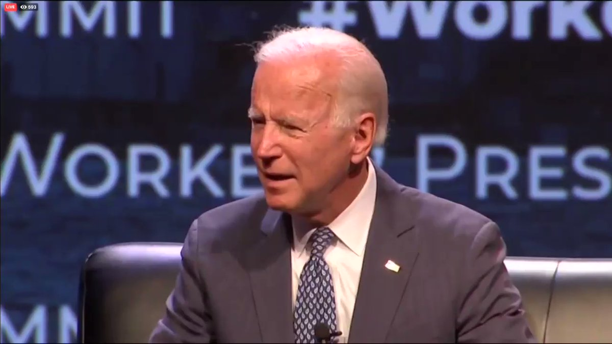 Biden's latest campaign promise: He won't 'pardon Trump' if elected