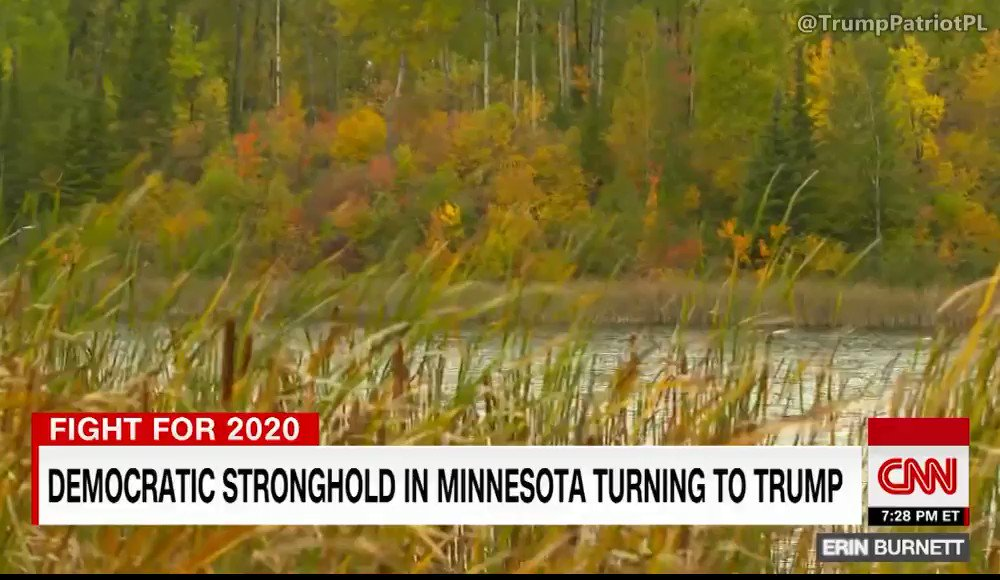 WOW: CNN travels to 'deep blue' Minnesota town, finds voters now supporting TRUMP (Video)