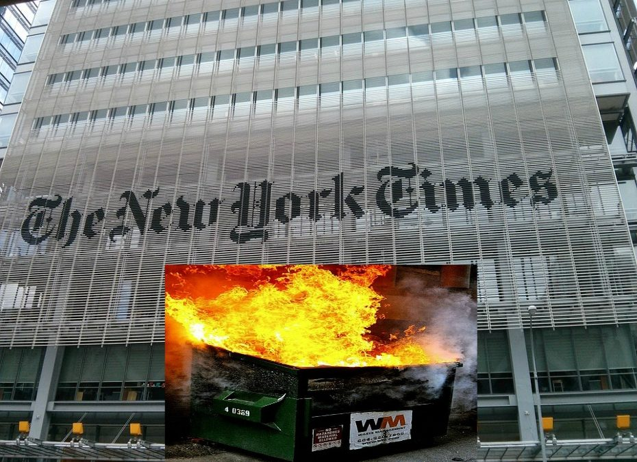New York Times staffers explode over Tom Cotton op-ed but had no problem with the Taliban or Vladimir Putin