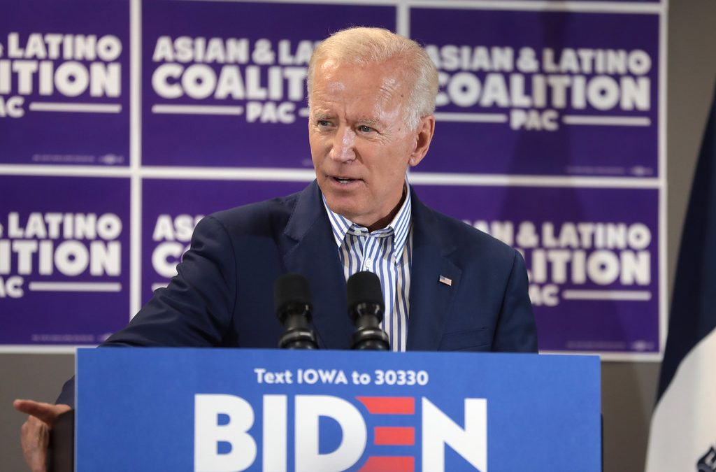 Trump's new political perfectly frames Joe Biden as something the president has never been: A blatant racist