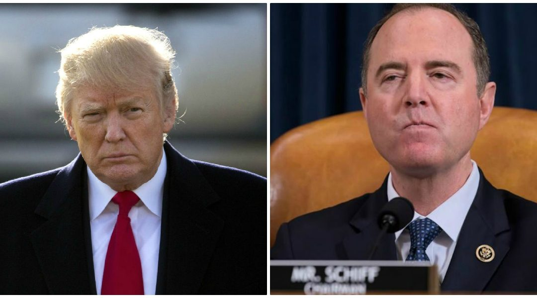 Pathetic Adam Schiff tries playing 'get of of jail free' card to hide how the got private phone records during impeachment inquiry