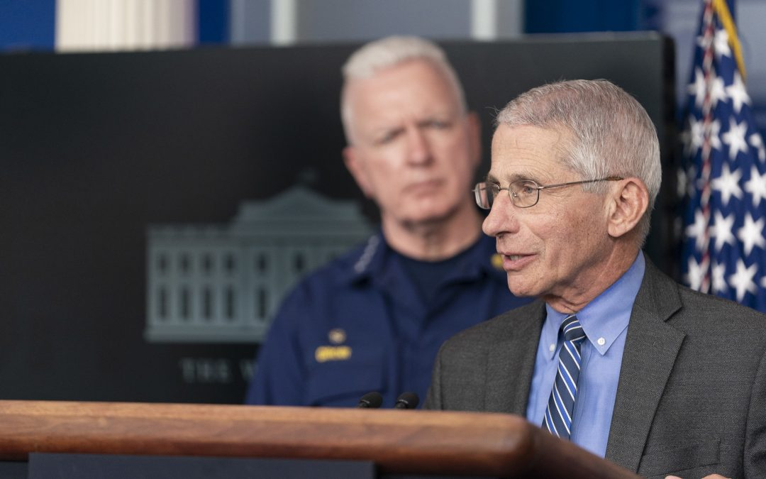 WTH?? Fauci says he 'can't guarantee' it'll be 'safe' to vote in November, which plays into Dems' 'vote-by-mail' fraud scheme