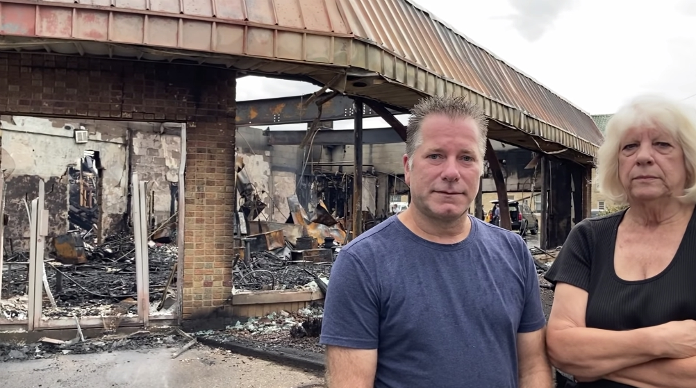 Kenosha store owners sob, others express anger after shops destroyed by mindless looting and rioting