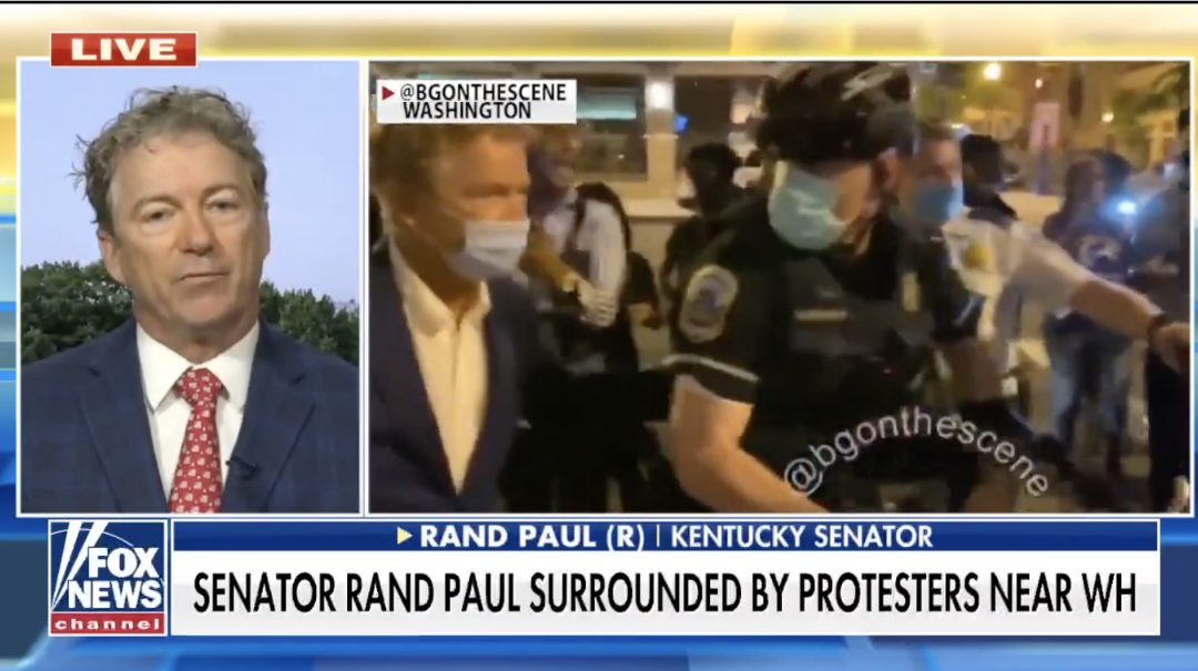 After Republicans and RNC attendees harassed, threatened, by thugs, GOP lawmaker calls on instigator Pelosi to condemn it