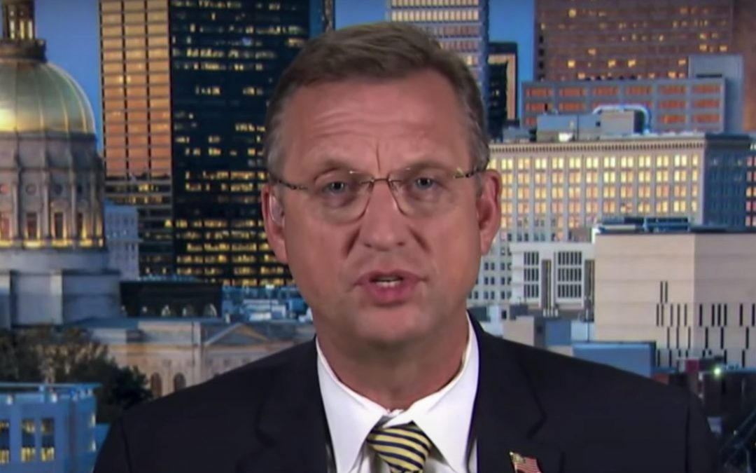 GET OUT: Rep. Doug Collins demands FBI chief Chris Wray resign for being 'complicit' in Russian collusion hoax