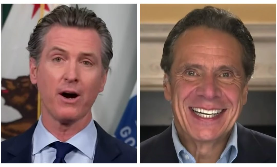 California Gov. Newsom to join New York Gov. Cuomo in endangering more lives by delaying residents from getting a coronavirus vaccine