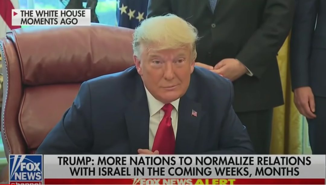 Trump the Peacemaker! Prez teases future agreements between Israel and other Arab states including Saudi Arabia