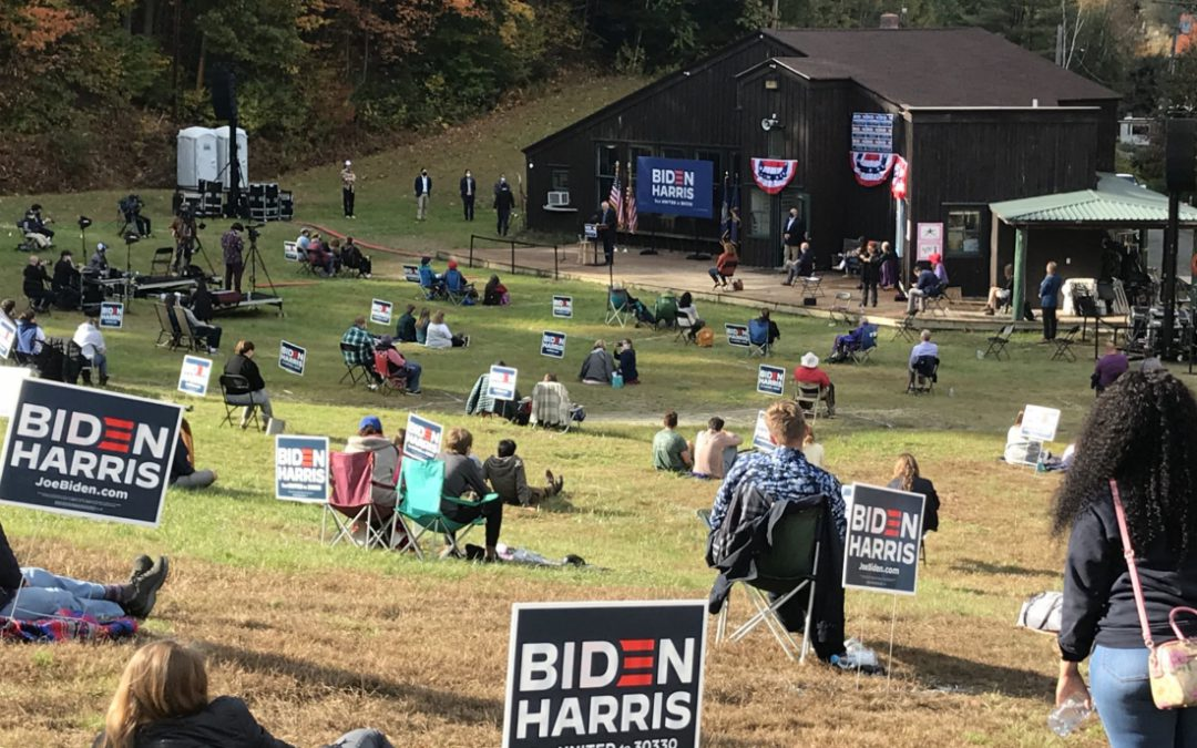 Joe Biden got '81 million votes' and still can't draw a crowd? How does that happen?