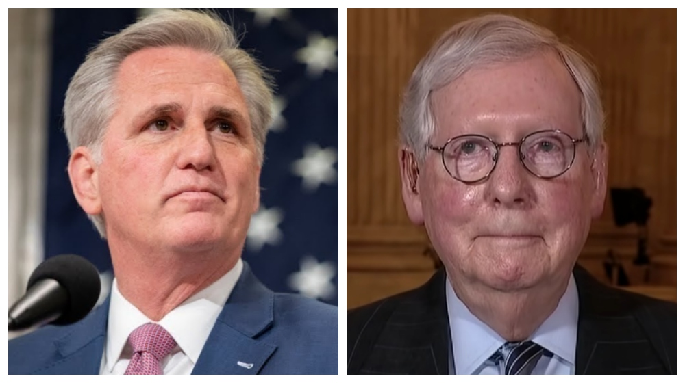 This poll showing McCarthy's and McConnell's favorable ratings tells you exactly which direction the GOP is headed
